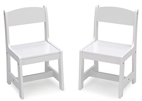 Delta Children MySize Wood Kids Chairs for Playroom [Pack of 2],...