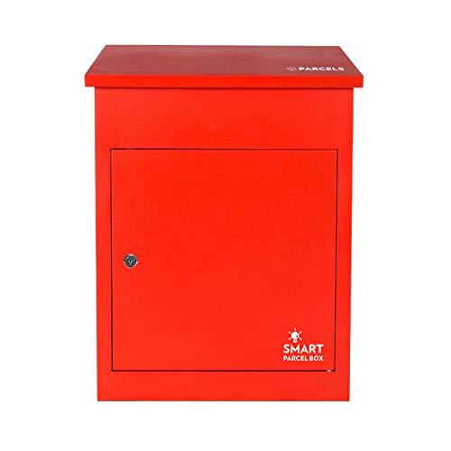 Paketbriefkasten Smart Parcel Box, rot - 3