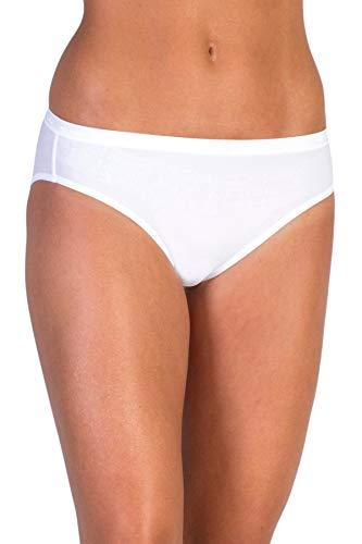 ExOfficio Women's Give-N-Go Bikini Brief - Medium - White