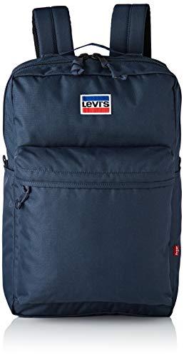 Levi's The L Pack Sportswear, Herren Schultertasche, Blau (Dark Blue), 12x45x29 cm (W x H L)
