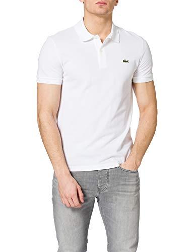 Lacoste PH0009 Camisa de Polo, Blanc, M para Hombre