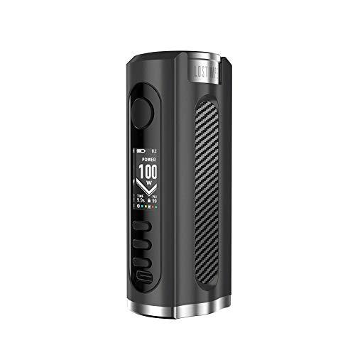 Lost Vape Grus Box Mod 100 Watt, e-Zigarette - Akkuträger, black carbonfiber
