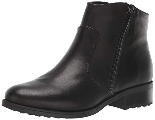 Easy Spirit Women's Rachele Ankle Boot, Black-1, 9.5 M US