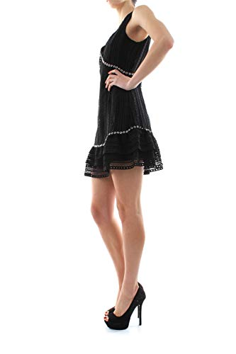 Guess Leandra Dress Vestido Informal, Negro, L para Mujer