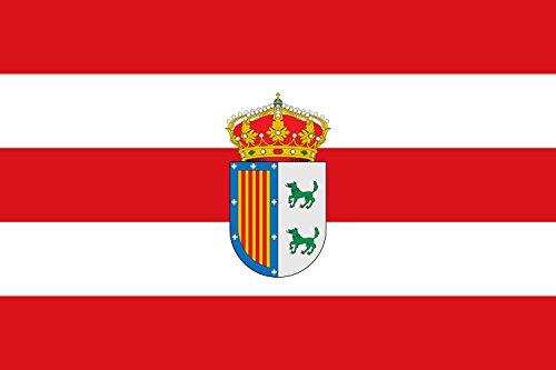 magFlags Bandera Large Municipio de Nombela Castilla-La Mancha | Bandera Paisaje | 1.35m² | 90x150cm