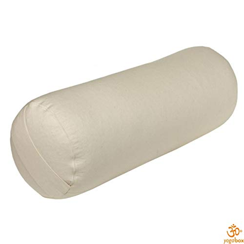 Yoga und Pilates Bolster/Yogakissen Made in Germany 2. Wahl, Natur