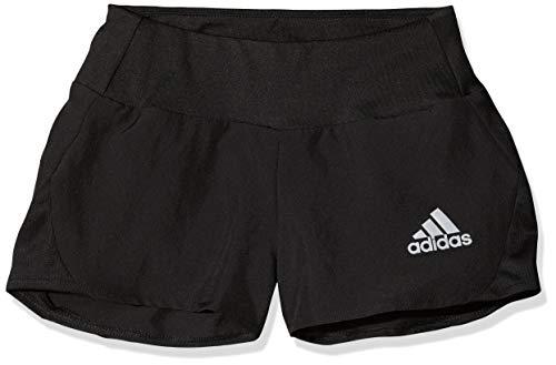 adidas Mädchen Run Shorts, Black/Reflective Silver, 116