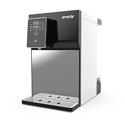 smardy blue R100 - Osmosis Inversa doméstica 5 etapas - sistema cambio rápido cartuchos de filtro de agua – temperatura normal, caliente