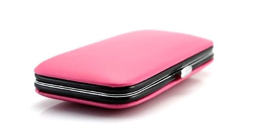 登る飲み込むサーバント爪のカスタマイズ 爪のお手入れセット 収納ケース付き (ピンク)