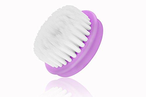 Spazzolina Peeling di scambio per la spazzolina elettrica per la pulizia del viso con 2 livelli di velocità di Moni Gutezeit, Colore: viola