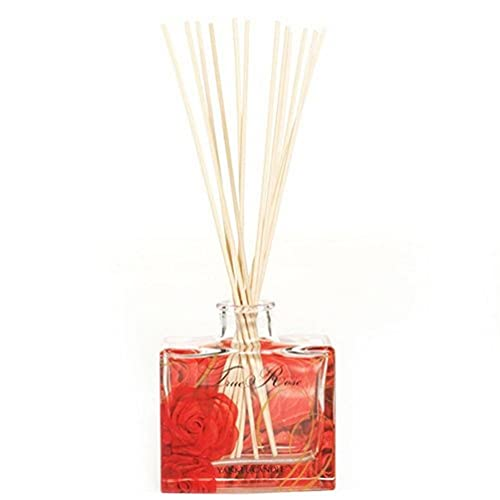 Yankee Candle True Rose Signature Reed Diffuser, Red