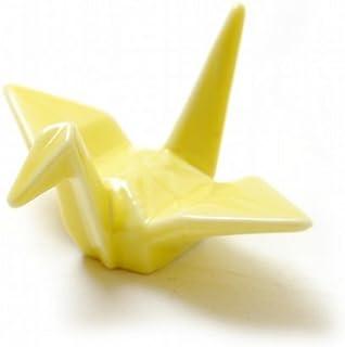 折り鶴 箸置き イエロー ニッポンスーベニア NIPPON souvenir ORITSURU HASHIOKI yellow
