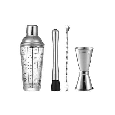 XILIN-1987 Juego de coctelera para cócteles y cócteles, para la nieve, gramos, taza transparente, escala de bar, zumo de fruta, taza, herramientas para barbar, bebidas, fiestas, bar, kit de barba