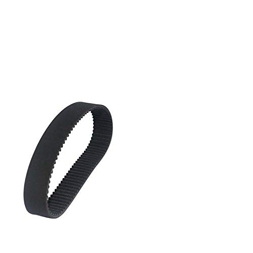 NO LOGO L-TAO-Pulley, 1pc HTD 3M Zahnriemen Länge von 252mm zu 282mm Breite 15mm 16mm Gummi HTD3M Synchron 252-3M 282-3M Closed-Loop (Farbe : 3M 261, Größe : 15mm)