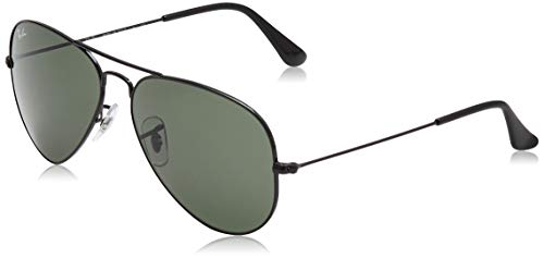 Ray-Ban Occhiali da Sole Unisex-Adulto, Nero (Black), 55 mm