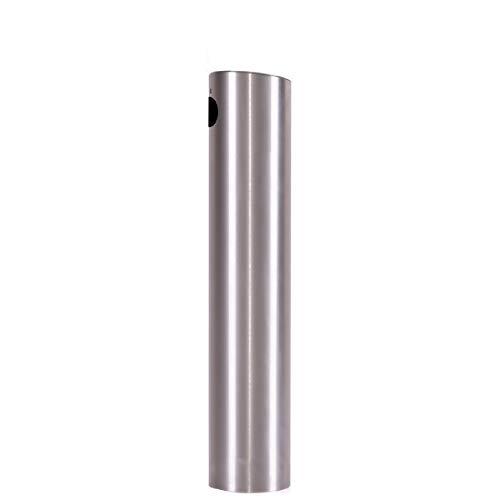 Schanksäule/Zapfsäule aus Edelstahl gebürstet 80mm H 400mm