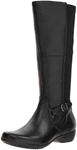 Dansko damen& 039;s Francesca Knee High Stiefel, schwarz Milled Nappa, 39 M EU (8.5-9 US)
