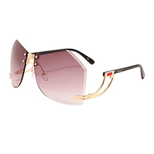 LINGAURY Lingaury Dare to be Different Modern Sunglasses Range Kurvy - Modern Mujer
