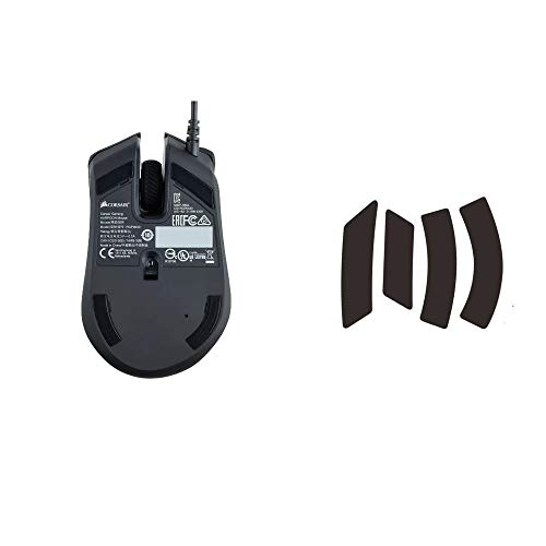 Gaming FPS/MOBA Mouse Feet Replace Mice Skates for Corsair Harpoon Pro Sabre M65 Dark core Glaive Scimitar PRO Ironclaw (Model, Harpoon Pro)