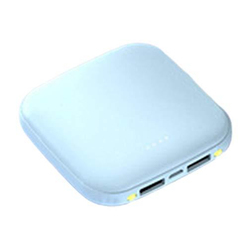 Creative Power Bank Mini Portátil Ultrafino Power Bank Protección contra sobrecarga Cargador de batería Externo portátil - Azul