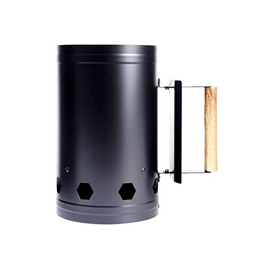 YiGo 1pc Barbacoa de carbón para encender carbón Encender Charcoal Grill Cubo...
