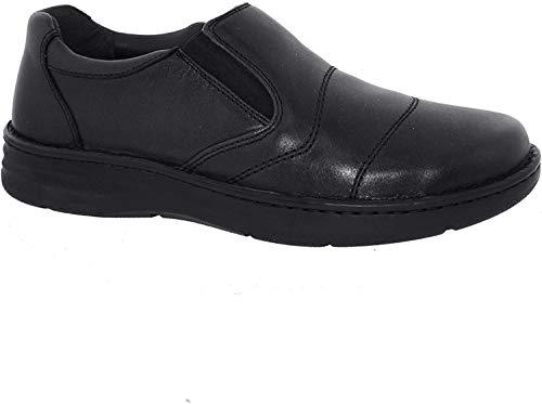 Drew Men Fairfield 43906 Black/Calf Leather 9.5 XX-Wide (6E) US