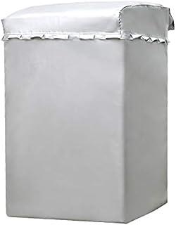 洗濯機カバー 屋外 防水 防日焼け 防塵 紫外線 最新厚手生地,丈夫で長持ちするオックスフォードを独特な防水処理技術で加工して、耐久性と防水性が良い 五年も使用できる