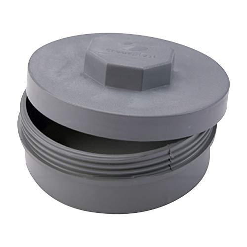 Crearplast tr-110 - Tapon registro diámetro 110