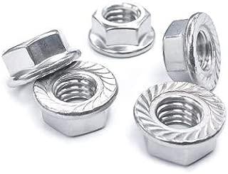 The Hillman Group 43207 5//8-11 Locking Flange Nut 5-Pack
