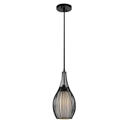 SFGH Lámpara de araña Vintage E27 Bombilla Metal Sala de Estar Dormitorio Restaurante Cocina (Size : 1-flammig)