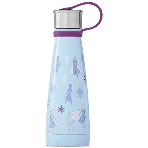 S'ip by S'well Stainless Steel 10 Fl Oz-Queen of Arendelle-Double-Layered Vacuum-Insulated Food and Drinks Cold and Hot-with No Condensation-BPA-Free Water Bottle