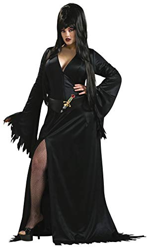 Secret Wishes Elvira Costume, Black, Plus
