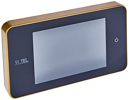 Telese E0378: 40 Mirilla digital, color dorado (1 unidad)