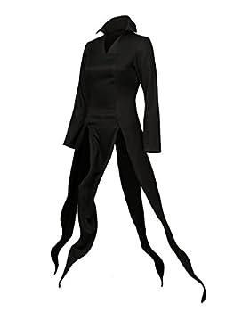 Cosfun Women s tatsumaki Cosplay Costume Black Suit mp003295  Large