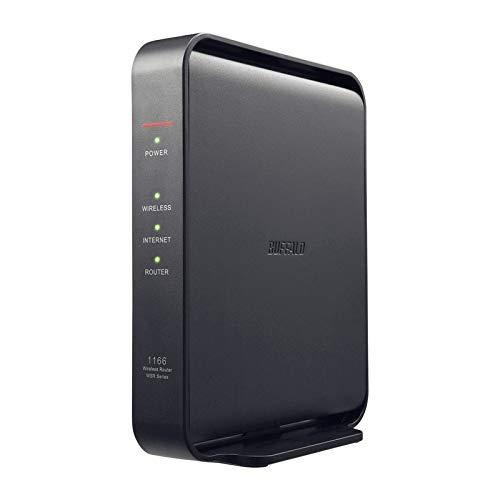バッファロー 11ac対応 866+300Mbps 無線LANルータ(親機単体) WSR-1166DHPL