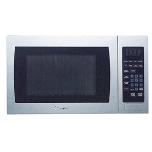 Magic Chef 0.9 cu ft, 900-watt Microwave with Digital Touch, Stainless Steel