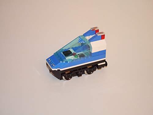Gebrauchte Bausteine Ersatz für Lego System Lego 9V Eisenbahn Train 4560 Lok Triebwagen in blau + 9V Motor Engine KOMPATIBEL MIT Lego 9V System