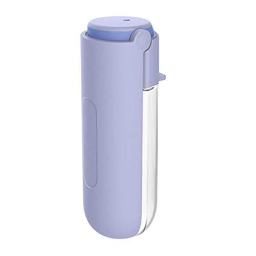PRJEDLK Botella de Agua de Mascotas portátil de 420 ml Fuente de Bebida a Prueba de Fugas de Alta Capacidad, Fuente de Consumo de Viajes al Aire Libre