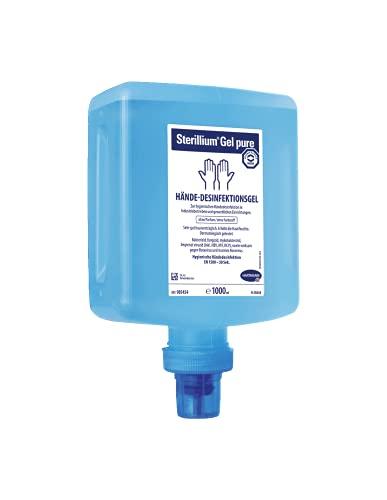 Sterillium Gel pure Händedesinfektion 10 x 1000 ml Überkopf-Flasche für Spender