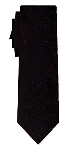 Cravate unie plain black VII