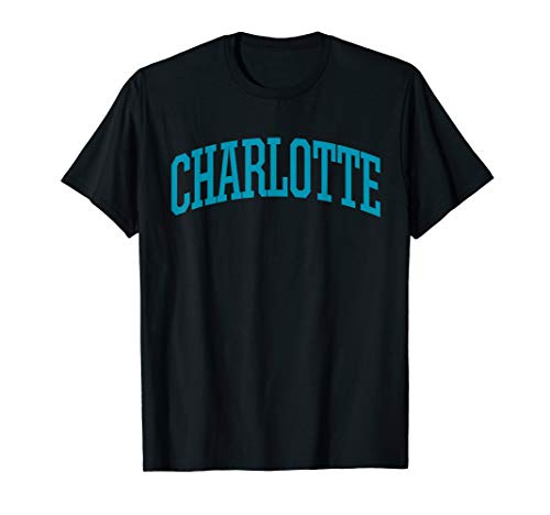 Charlotte T-Shirt / Charlotte Sports College-Style T NC