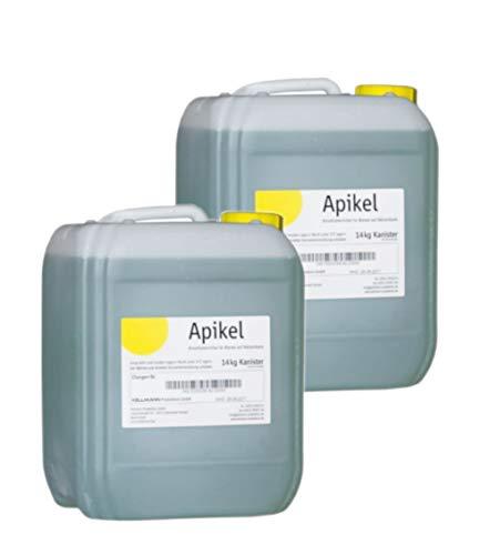 APIKEL 2X 14 kg Sirup im Kanister Flüssiges Bienenfutter Futter für Bienen Bienensirup Imker