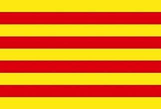 3x5 Catalonia Spain Flag Spanish Banner Pennant Bandera 3x5 Foot Indoor Outdoor
