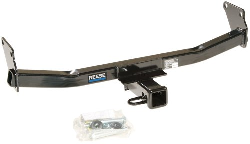 Reese Towpower 44661 Class III Custom-Fit Hitch with 2' Square Receiver opening, includes Hitch Plug Cover , Black