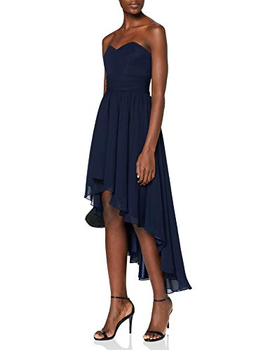 Swing Damen Kleid Sina, Gr. 38, Blau (schwarzblau 300)