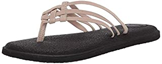 Sanuk Women's Yoga Salty Flip-Flop, Natural, Numeric_8 (B07D2WZQXG) | Amazon price tracker / tracking, Amazon price history charts, Amazon price watches, Amazon price drop alerts