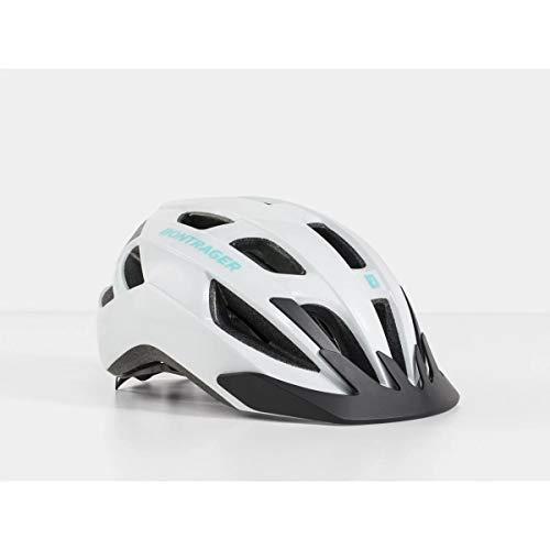 Bontrager Solstice 2020 - Casco de Ciclismo, Color Blanco y Turquesa, S/M (51-58cm)