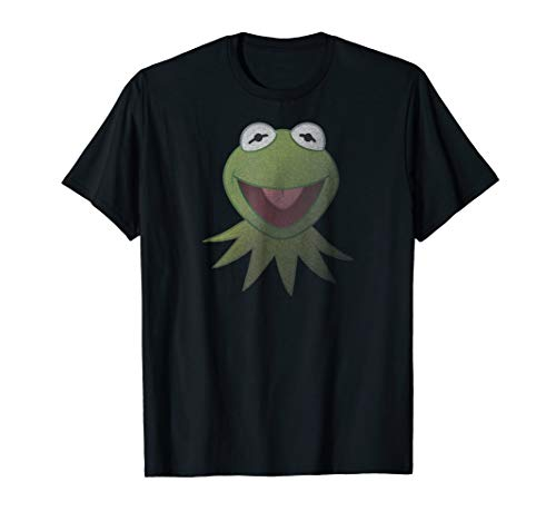 Disney Muppets Kermit the Frog Face T-Shirt