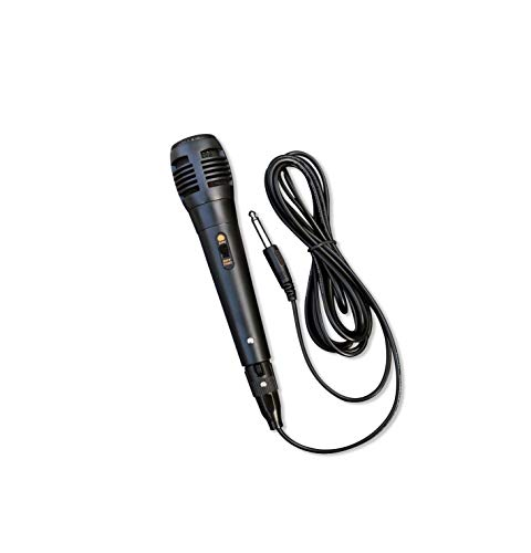 Wired Dynamic Karaoke Microphones, Handheld Wired Uni-Directional Kids Microphone for Singing, Tiny Microphone with 10ft XLR to 6.35mm Audio Cable for Stage Karaoke Speech Wedding Indoor Outdoor Use