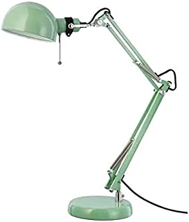 Classic Work Lamp for Desk in Vintage Turquoise Green for Home Office, IKEA 103.214.25